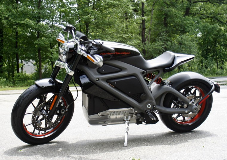 Prima motocicletă electrică Harley Davidson
