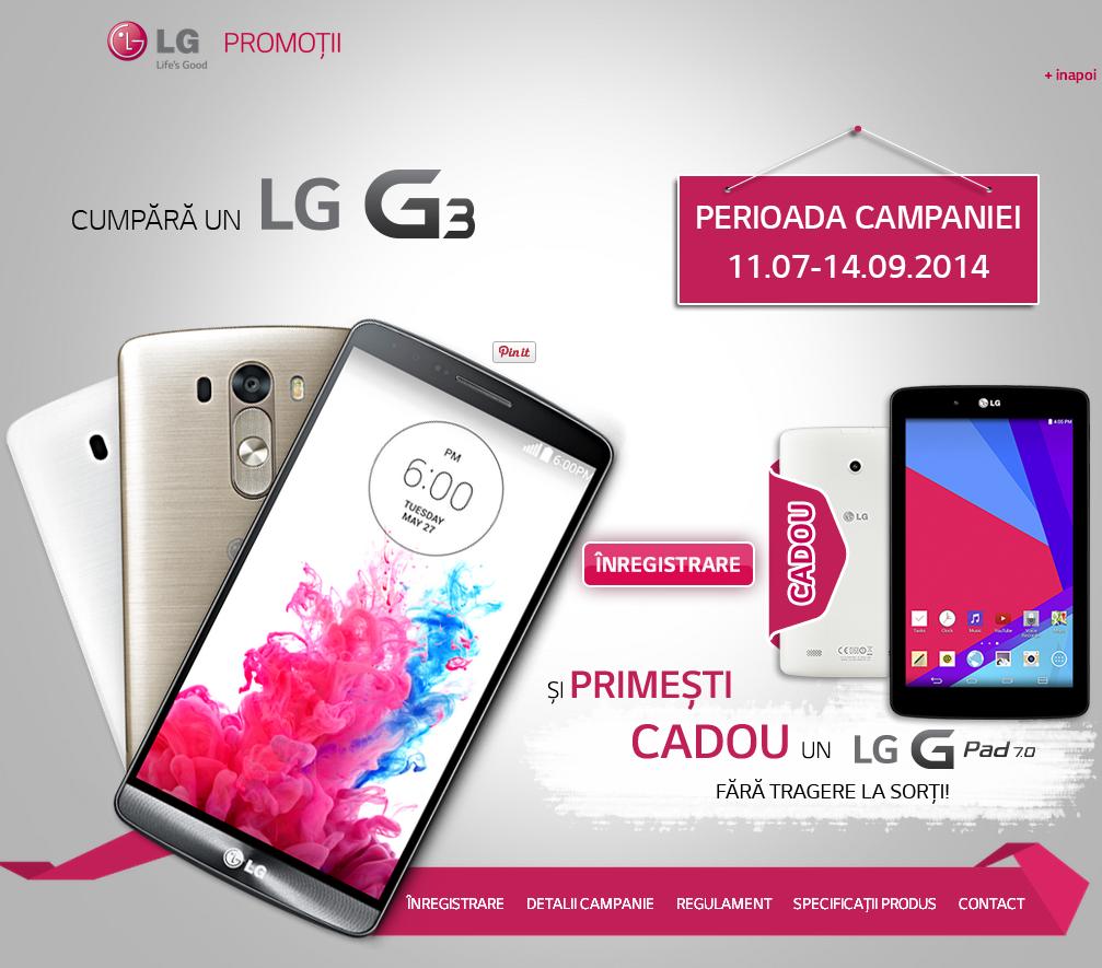 lgpromo.ro promotie G3promo