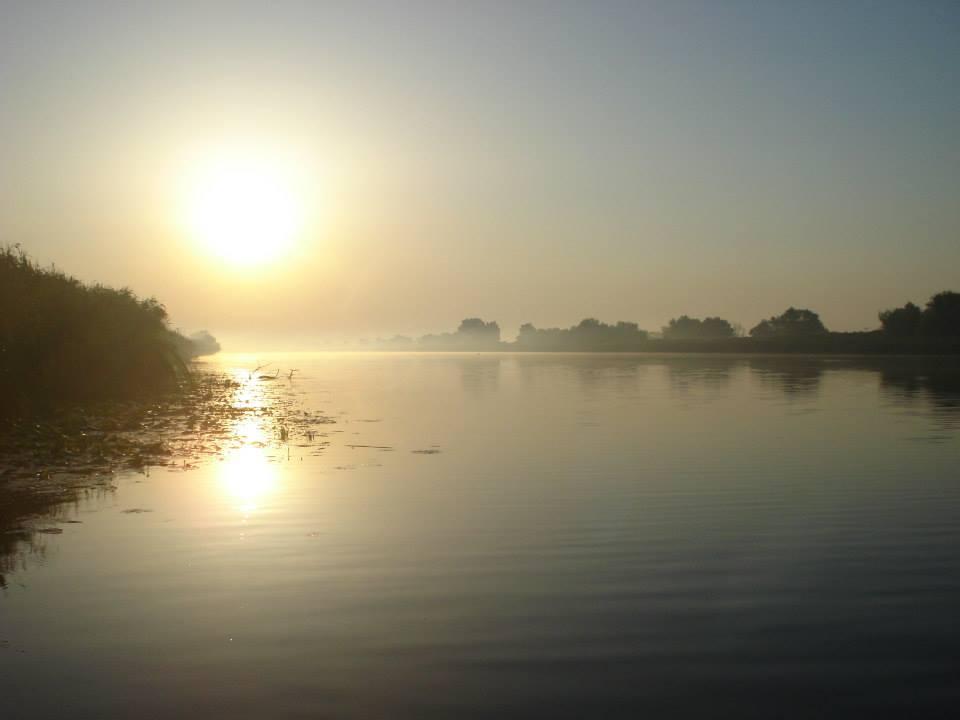 Rasarit in Delta Dunarii/Foto: Facebook