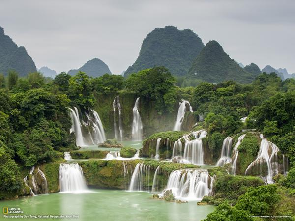 Cascada Ban Gioc, Vietnam