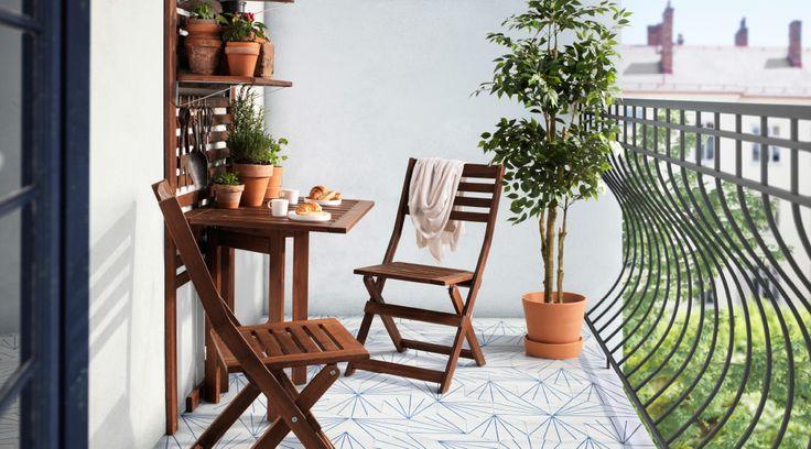 Oferta Ikea. Obiecte de mobilier pentru balcon/terasă - DragosU.ro